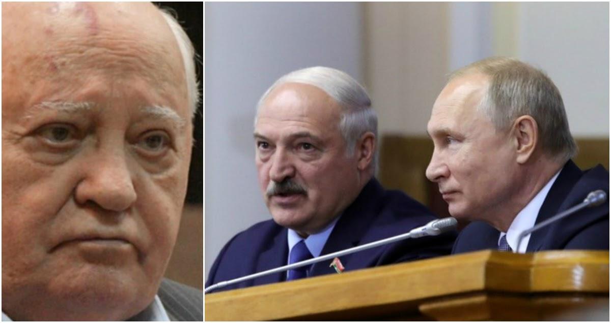 Горбачев поддержал протестующих против Лукашенко в Белоруссии