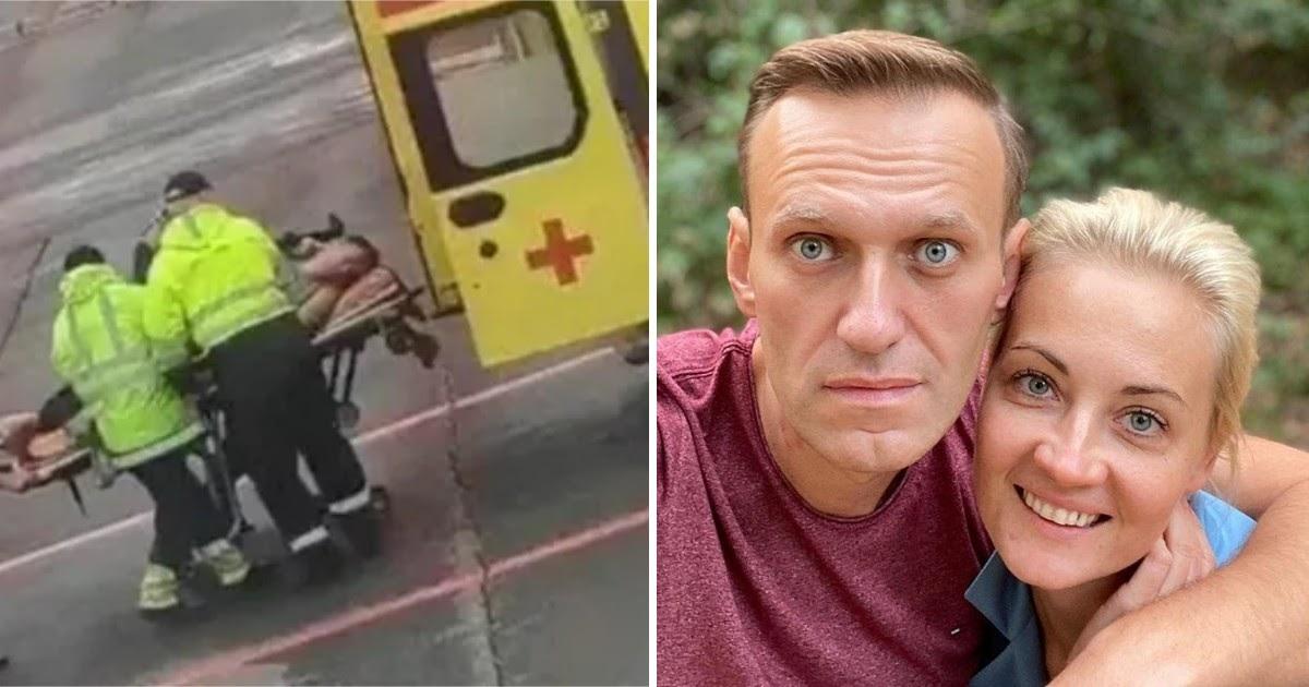 Навальный поблагодарил пилотов и омских врачей за спасение жизни