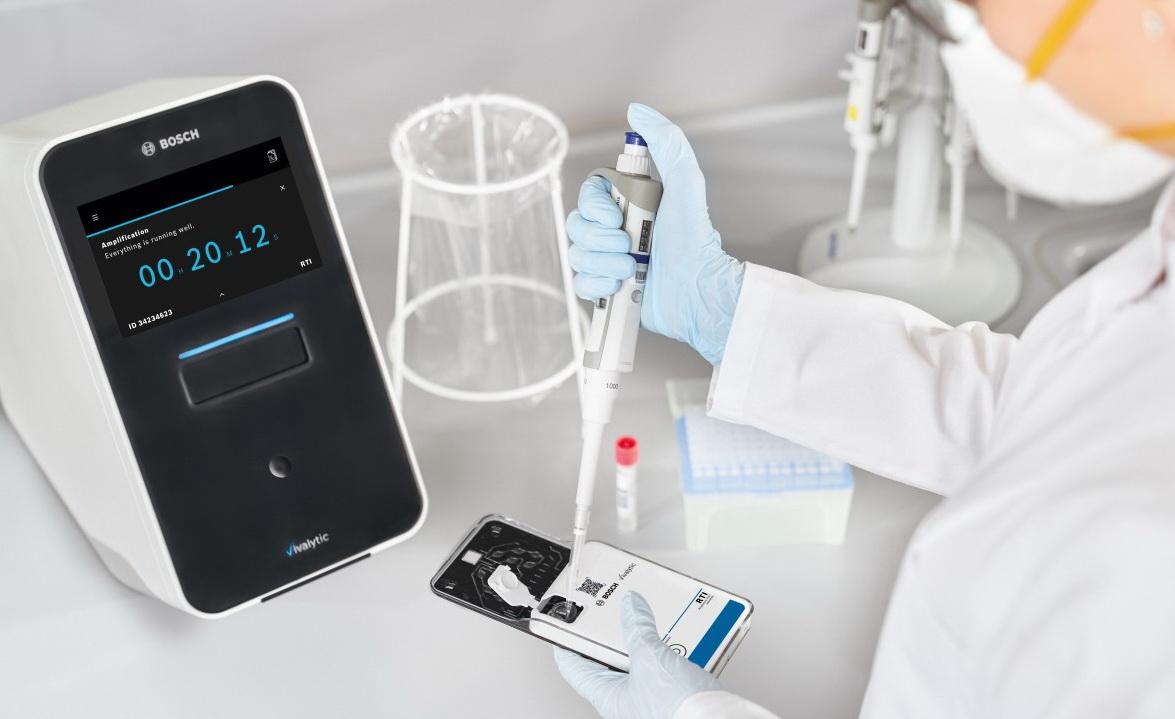 Bosch представила самый быстрый тест на COVID-19