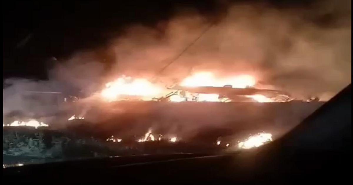 Неизвестный самолет потерпел крушение под Харьковом