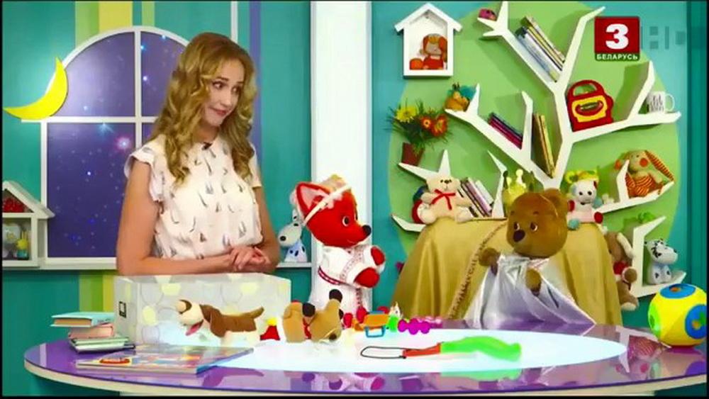 В Белоруссии герои детской телепередачи разыграли смену власти