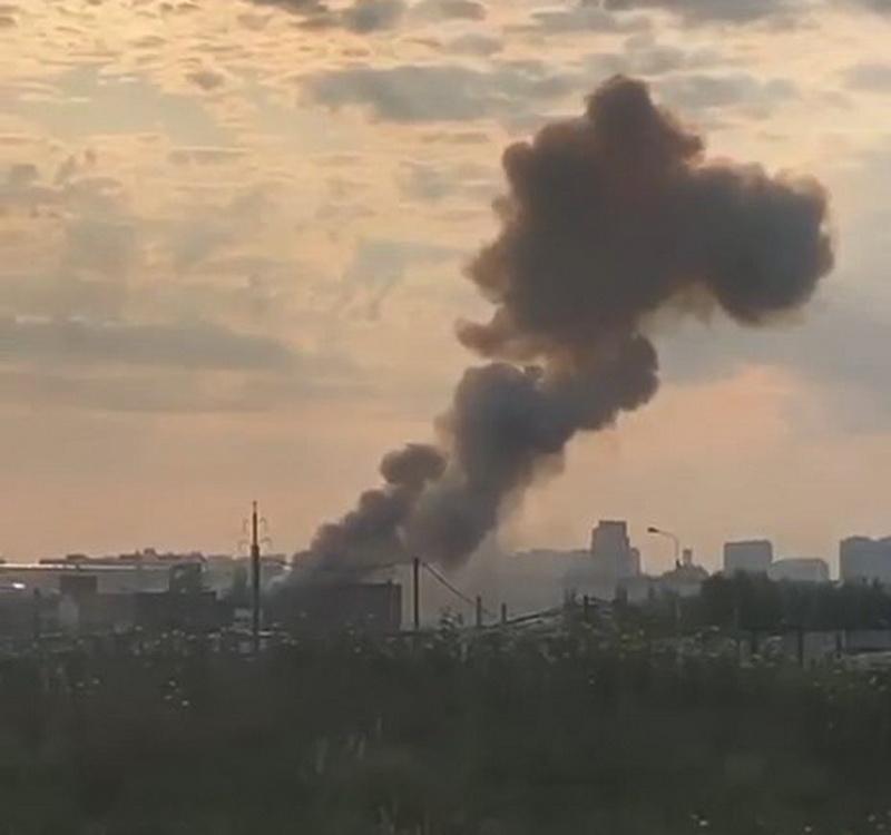 На подмосковном заводе в Люберцах произошел взрыв