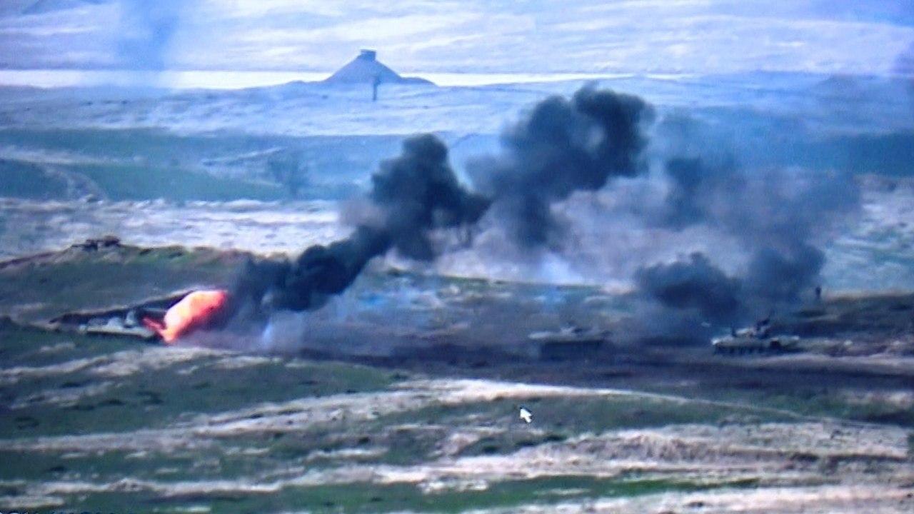 МО Азербайджана объявило о начале контрнаступательной операции в Нагорном Карабахе