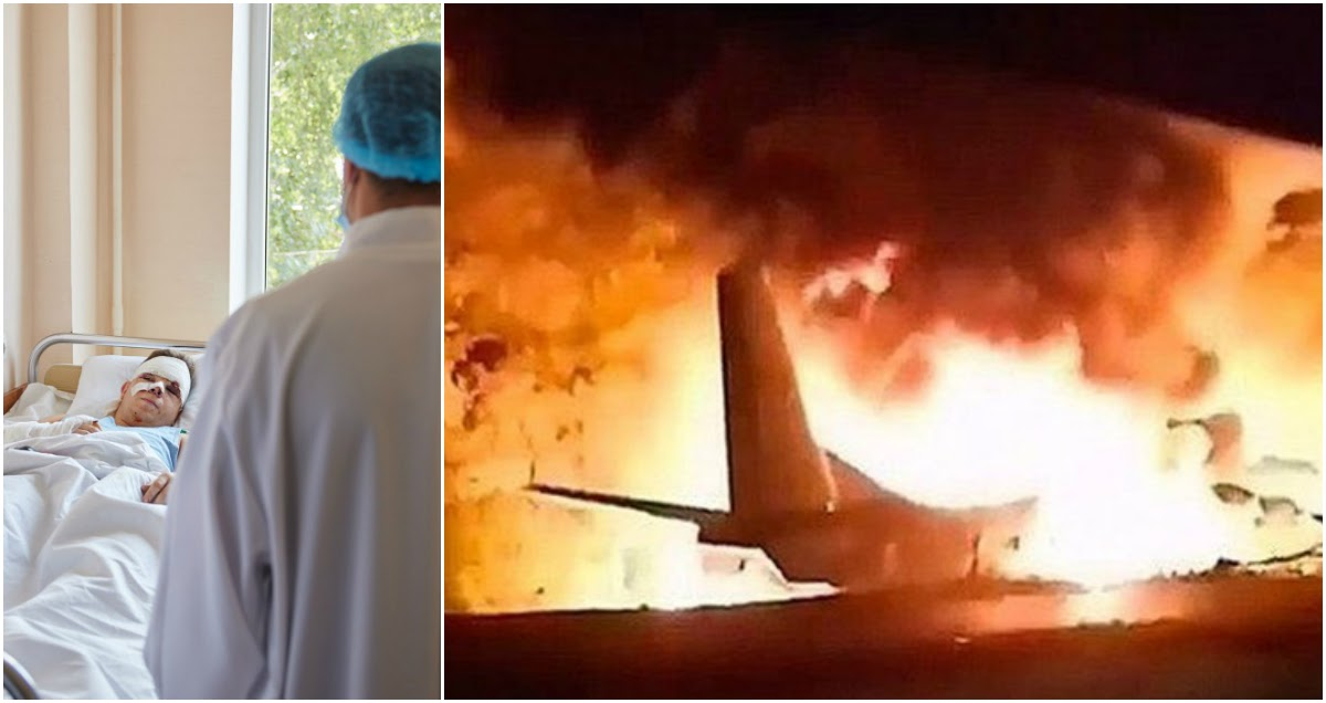 Чудом выживший: курсант рассказал Зеленскому, как пережил авиакатастрофу