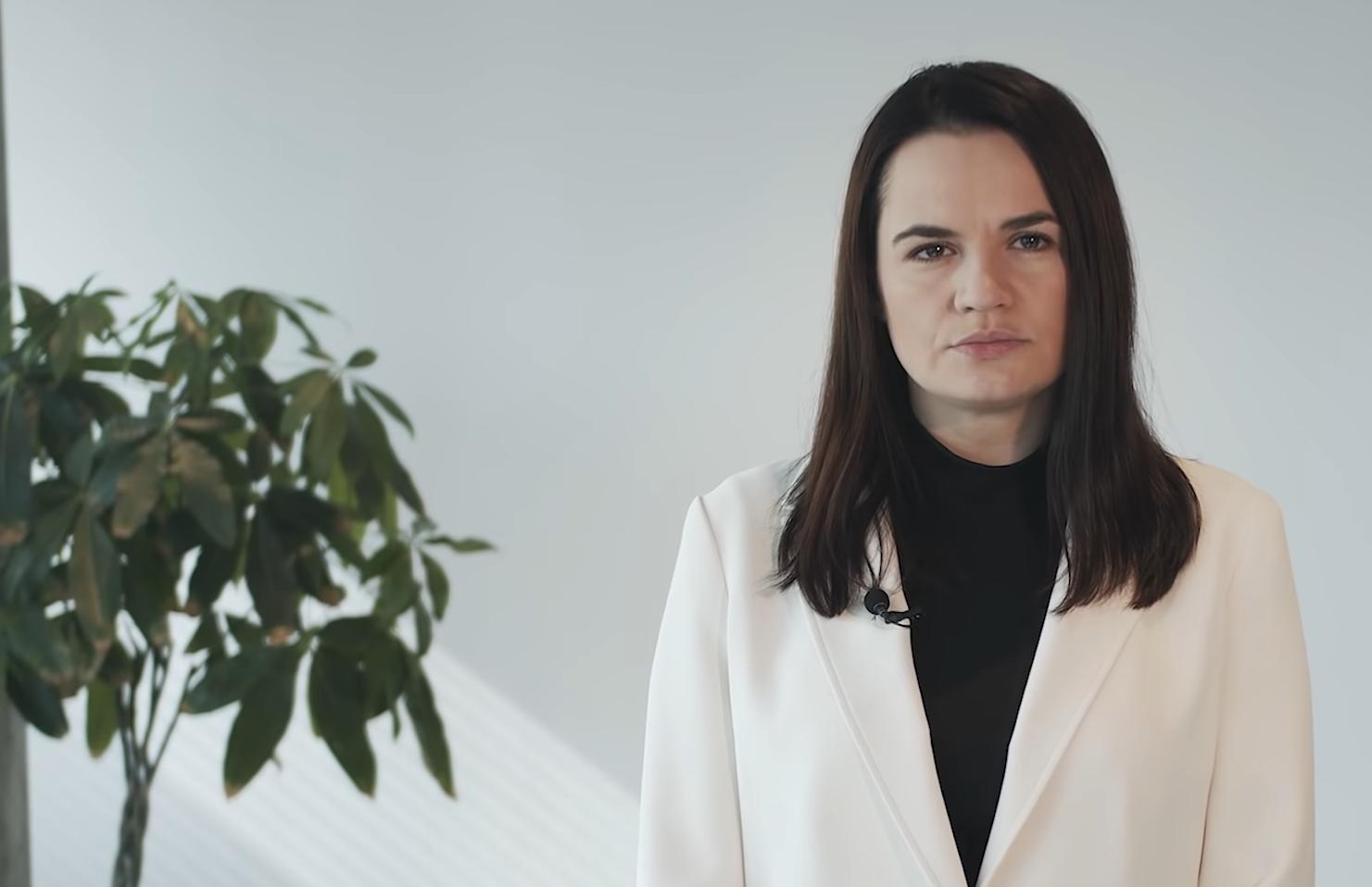 Тихановская призвала писать письма белорусским политзаключенным