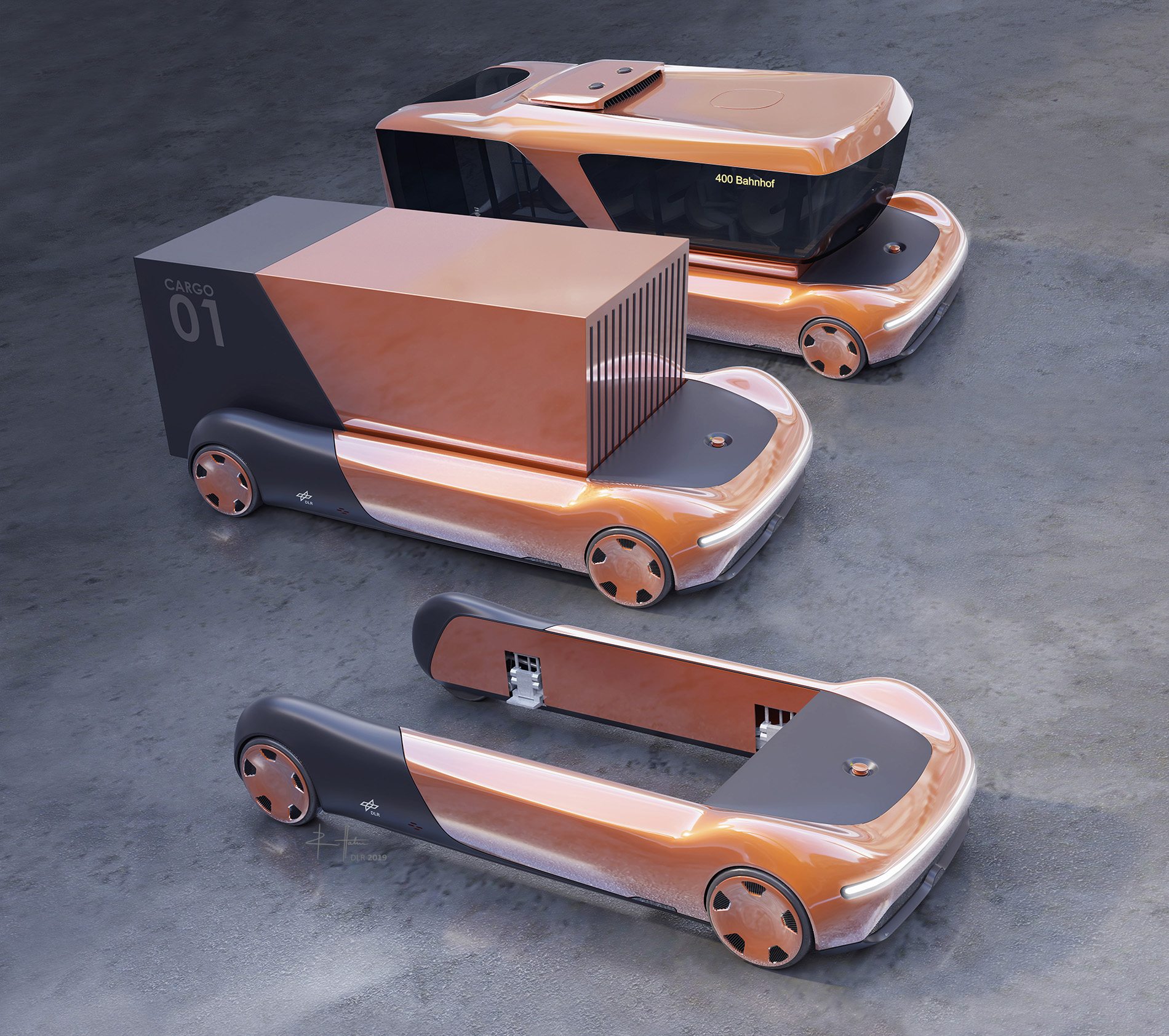 В Германии показали революционный тип автомобиля: беспилотник-трансформер