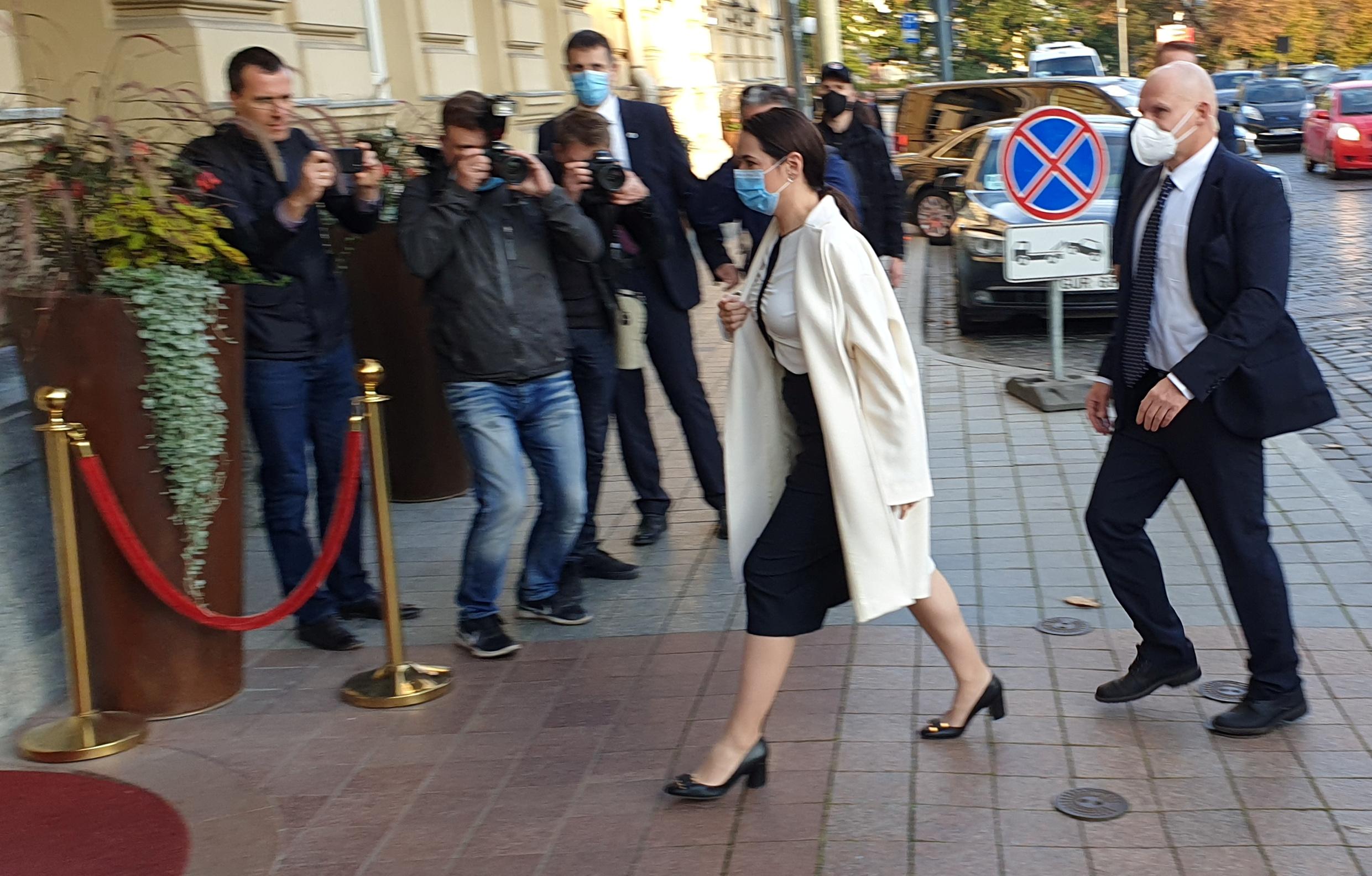 Тихановская встретилась с президентом Франции