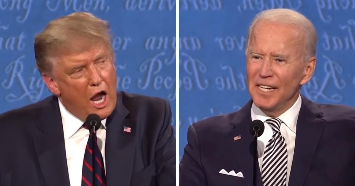 """Зaткнись, щенок Путина"". Байден и Трамп пopyгались на дебатах"