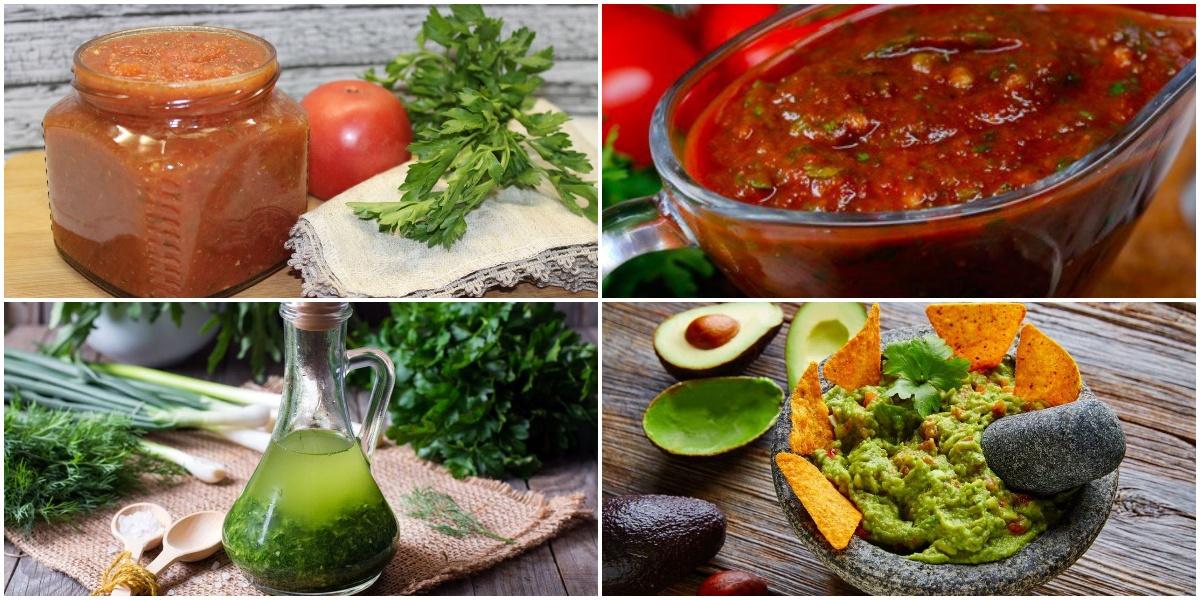 Подборка из 7 видов соуса в домашних условиях