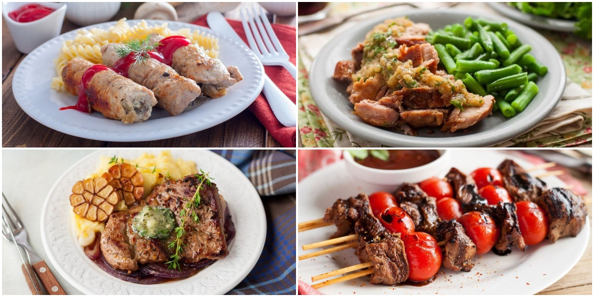 Подборка сытных и вкусных блюд из свинины