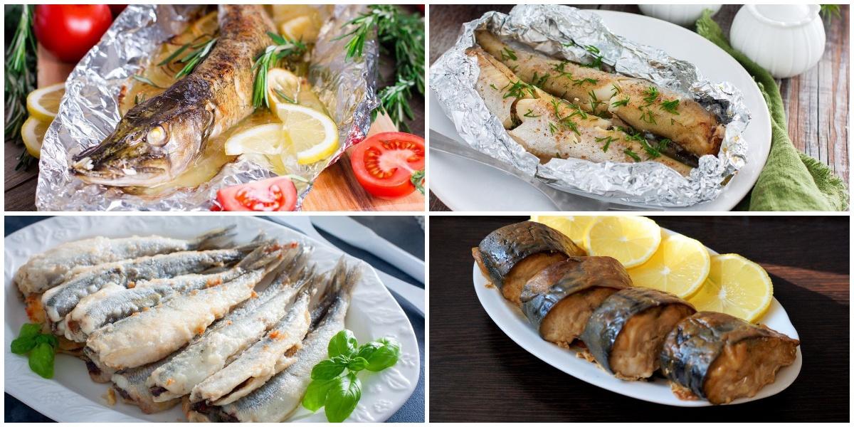 7 изысканных блюд из рыбы