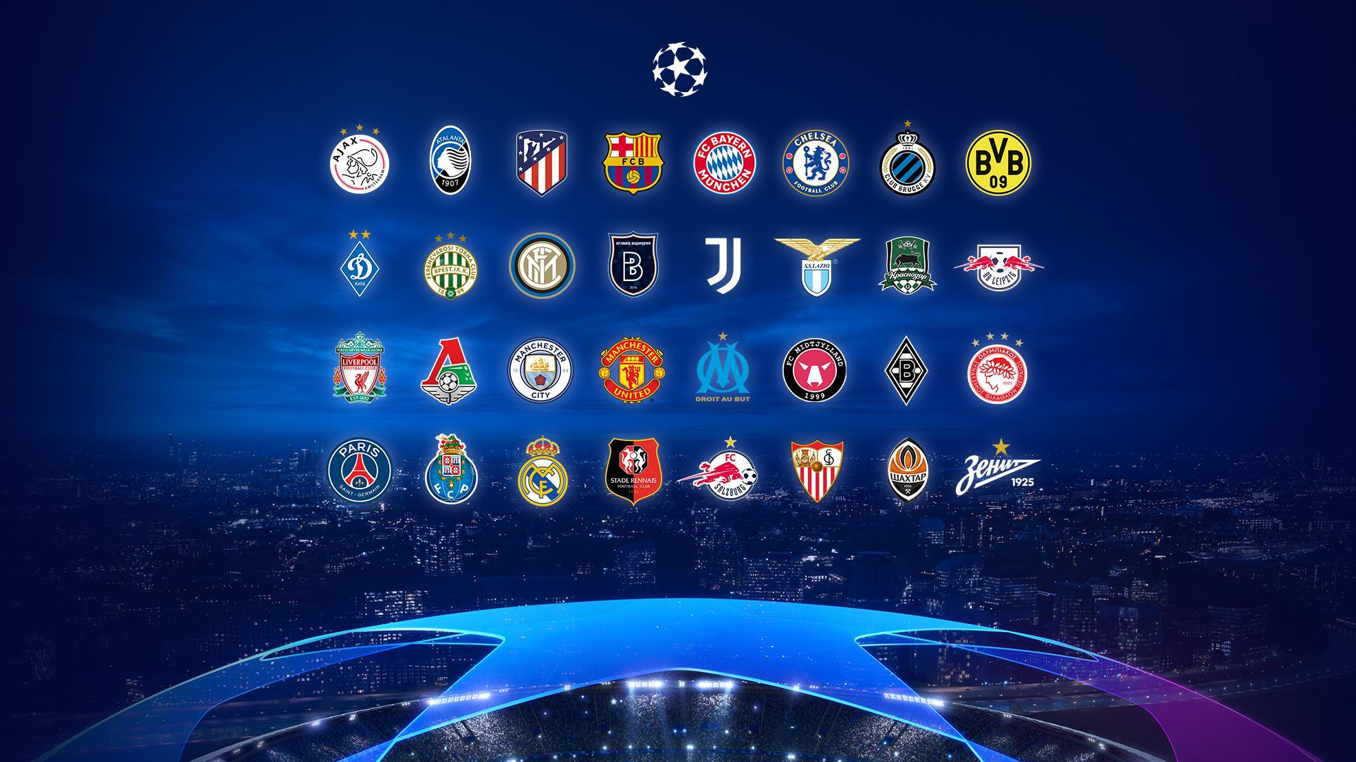 Стали известны соперники российских клубов в групповом этапе Лиги чемпионов