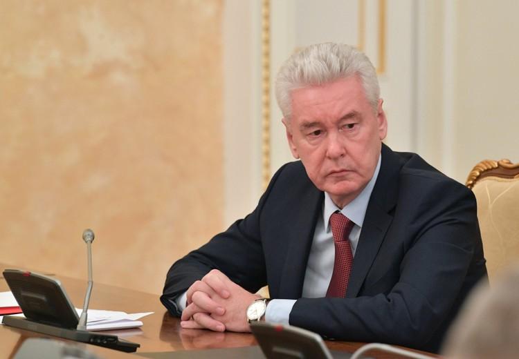 Собянин: ситуация с коронавирусом в Москве на грани критичной