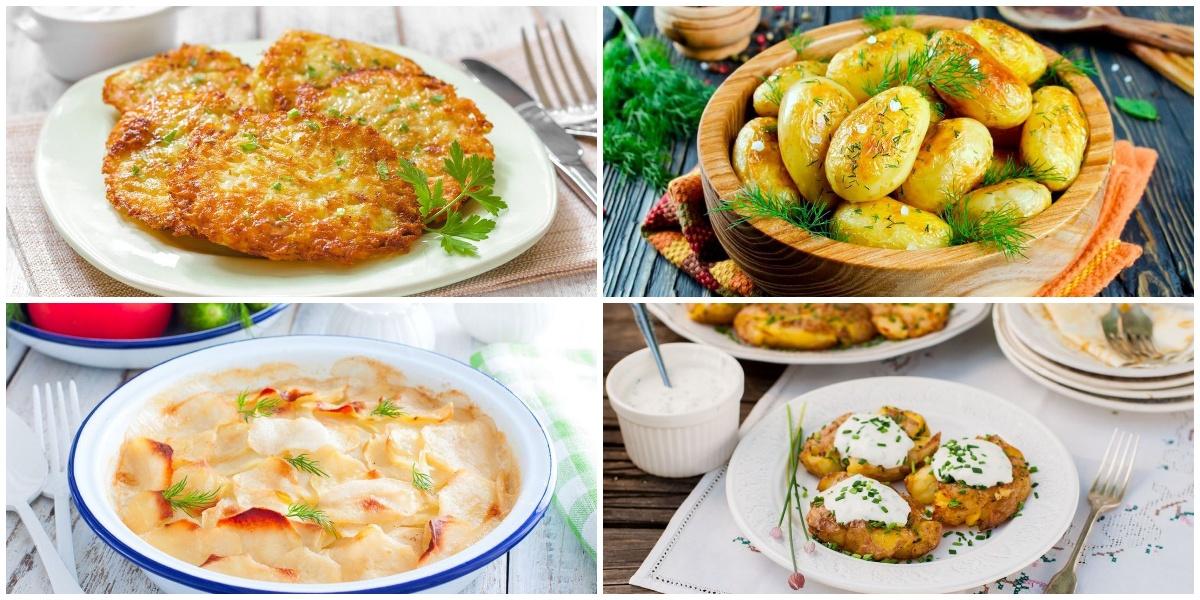 Подборка сытных блюд из картофеля