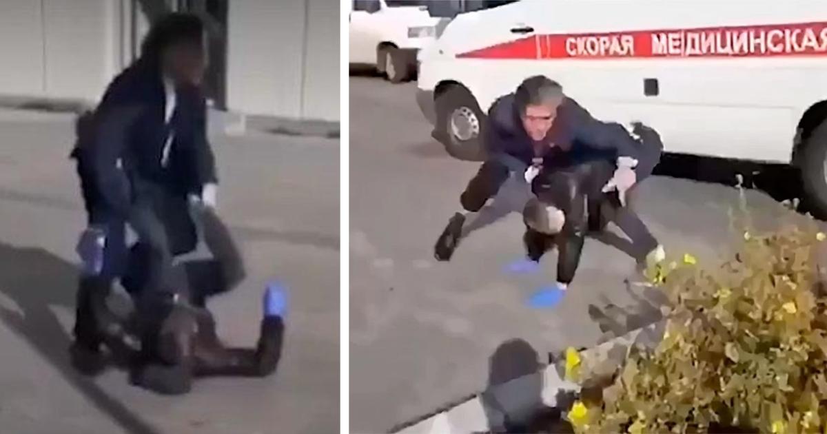 Опубликовано видео «грязного нападения» на Пашаева