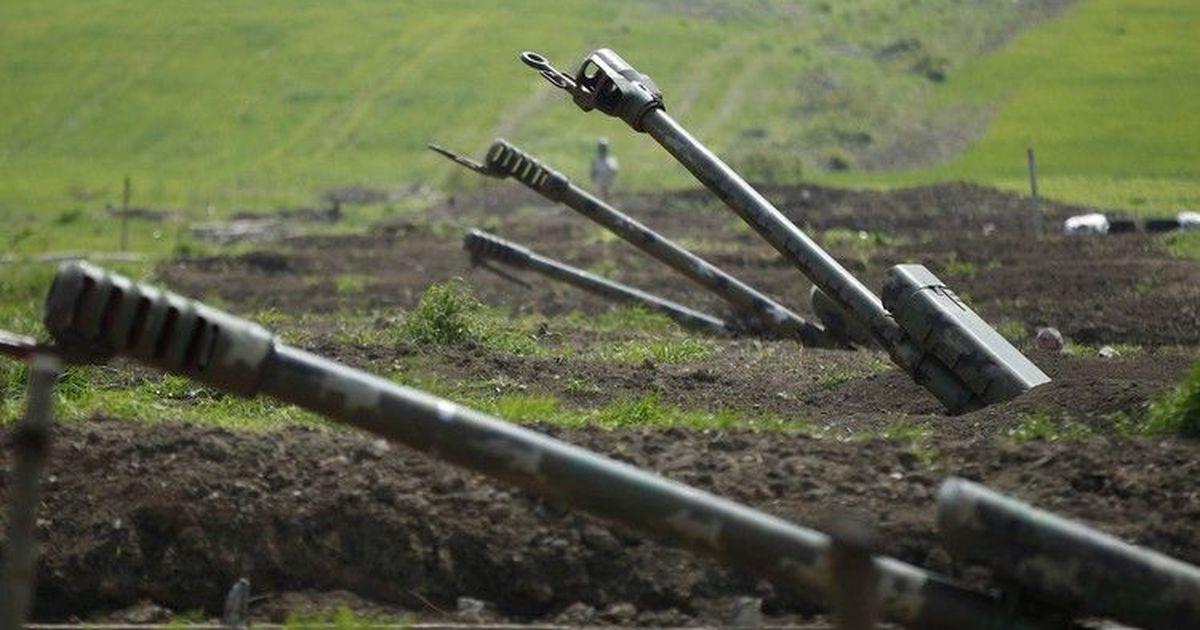 МО Армении сообщило о наступлении азербайджанских войск в Карабахе