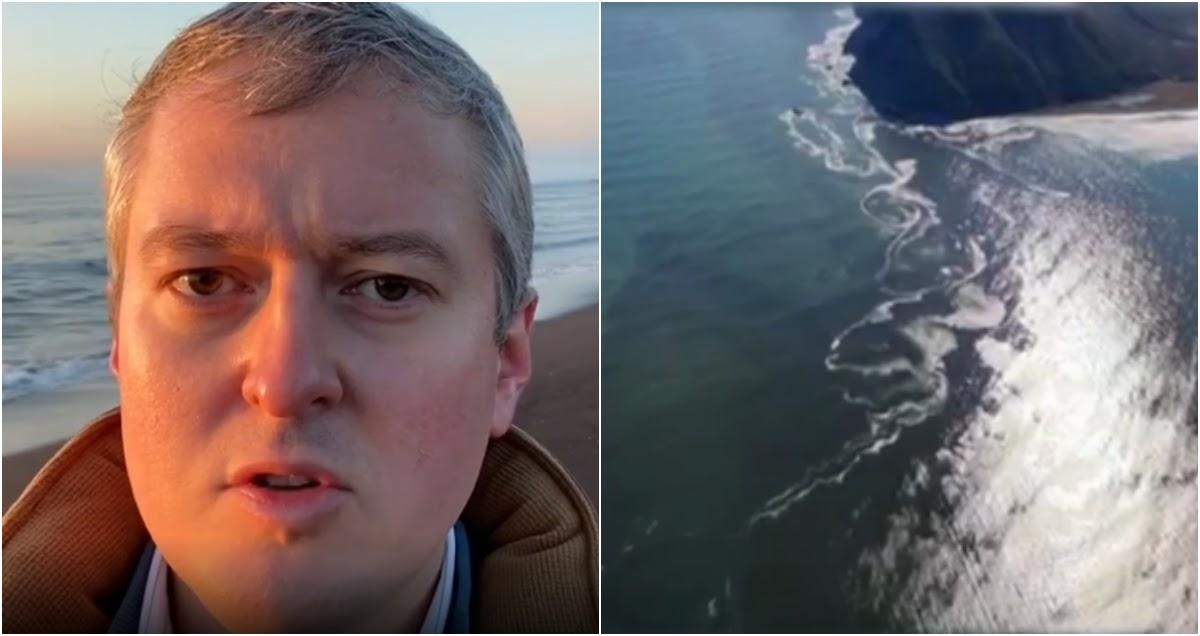 Губернатор Камчатки признал экологическую катастрофу и приехал на пляж