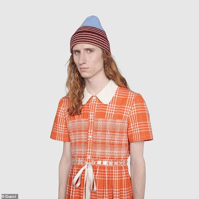 """Gucci представил платье для мужчин для борьбы с """"токсичной гендерной идентичностью"""""""