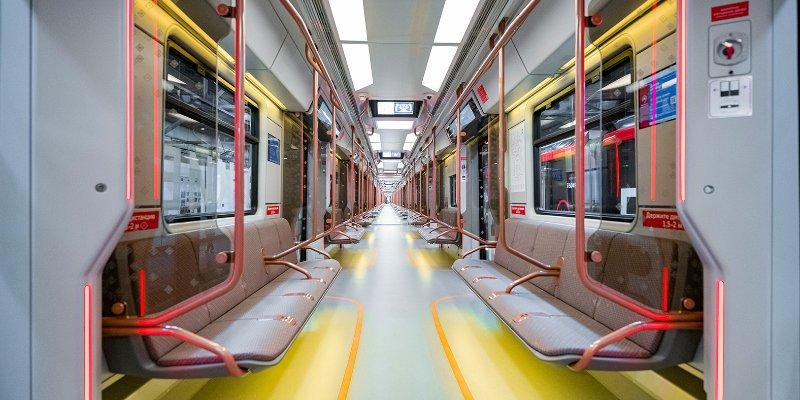 В московском метро запустили поезда нового поколения