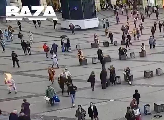 Мужчина совершил самосожжение в центре Санкт-Петербурга