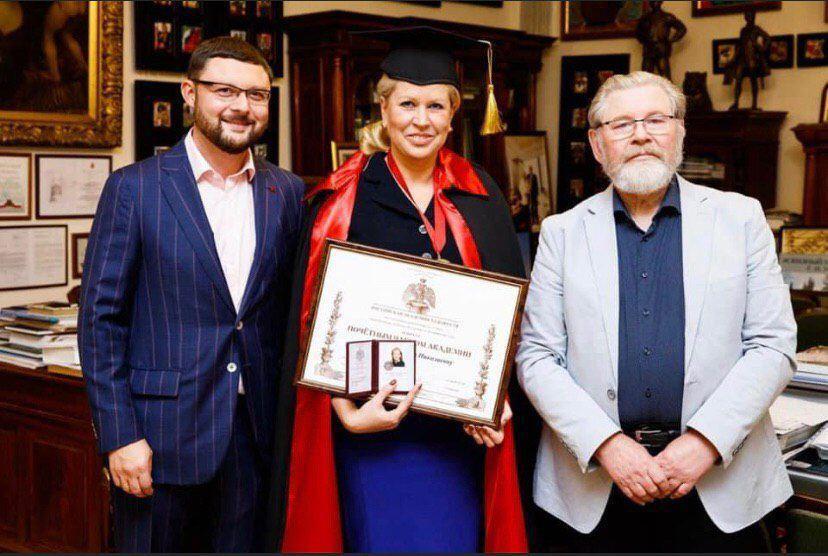 Васильева стала почетным академиком Российской академии художеств