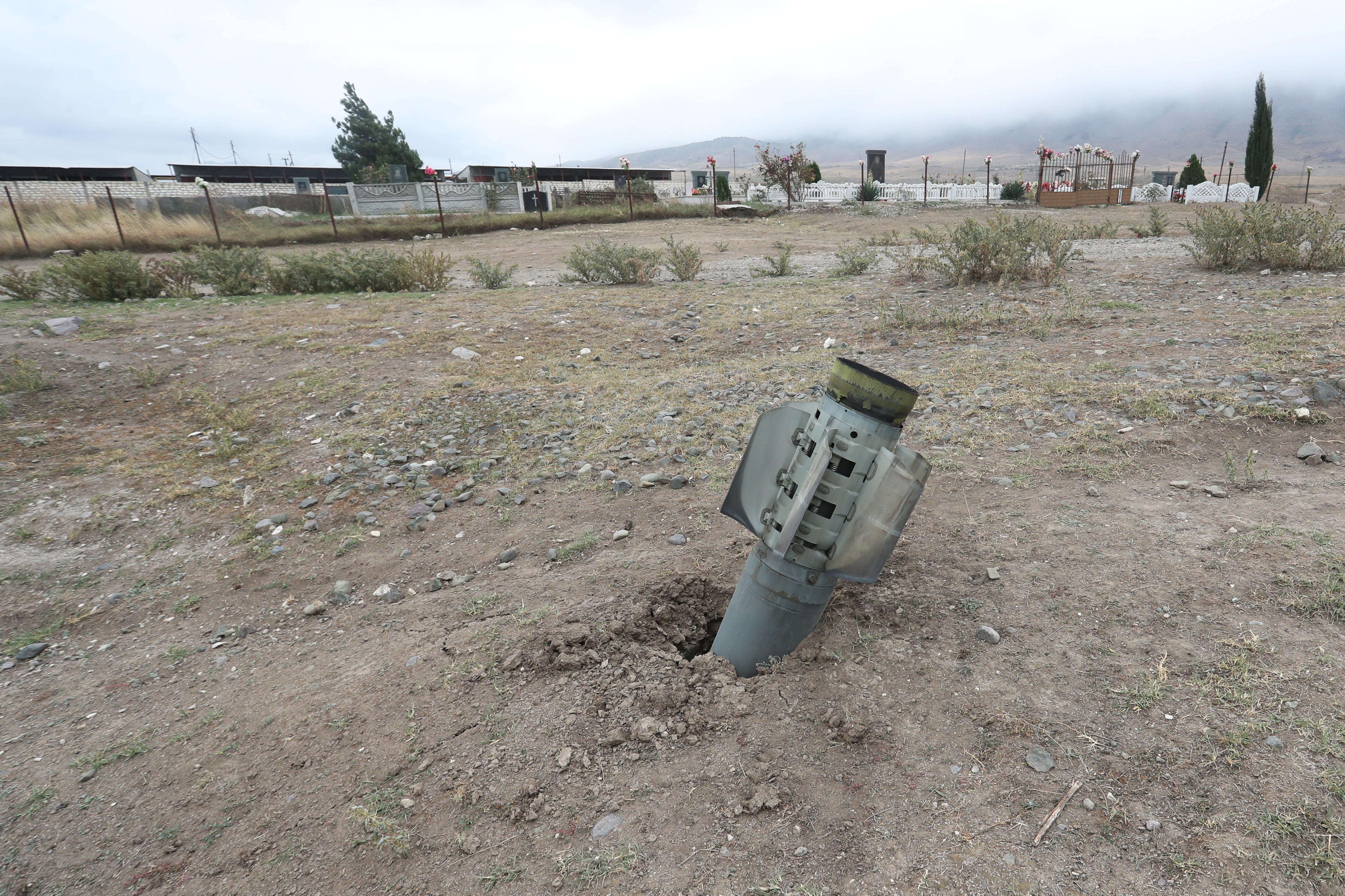 В Дагестане проверяют взрыв неопознанной ракеты