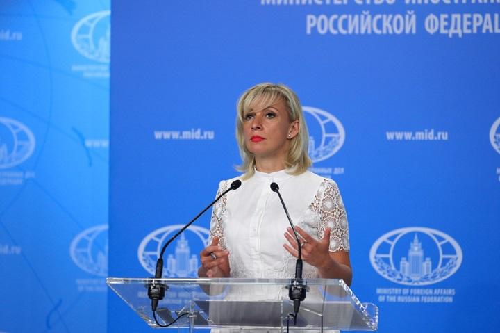 Захарова: РФ ответит на возможные санкции из-за ситуации с Навальным