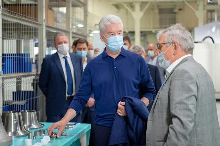 Собянин: В Москве увеличилось число тяжелобольных COVID-19