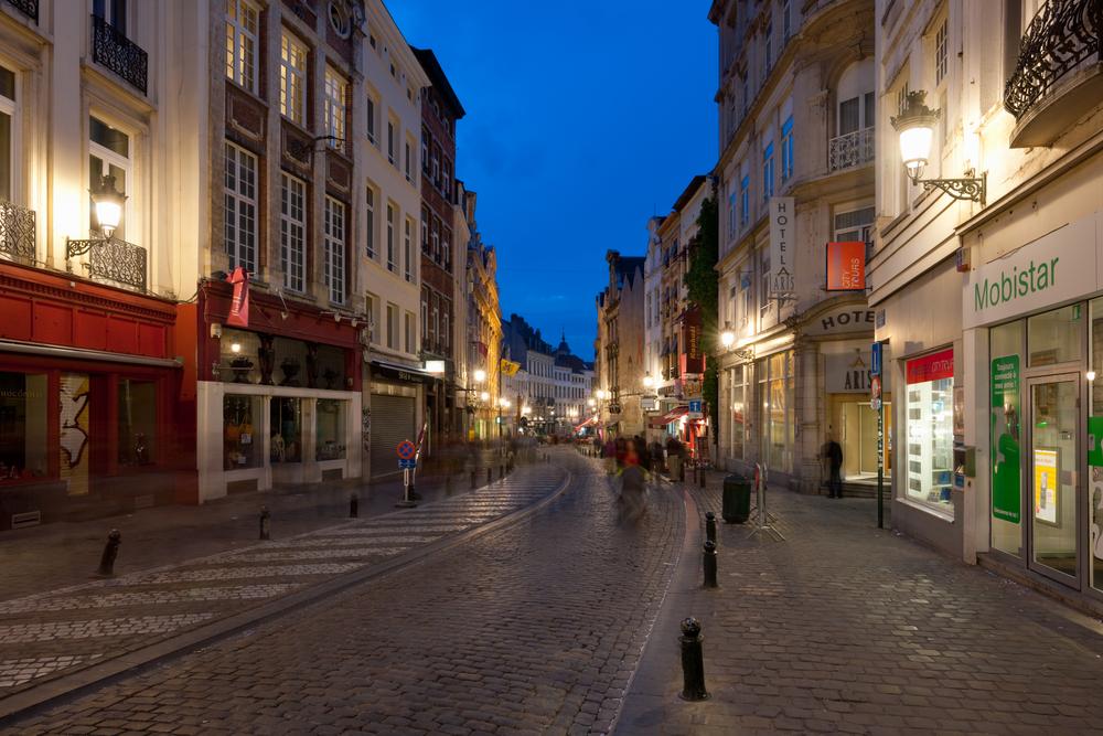 На центральных улицах Брюсселя запретили распивать алкоголь