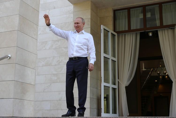 Путин рассказал о подарках от близких на свой день рождения