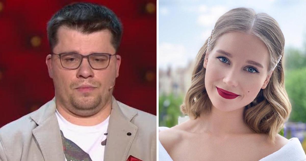 Харламов высмеял Кристину Асмус в пародии на шоу «Холостяк»