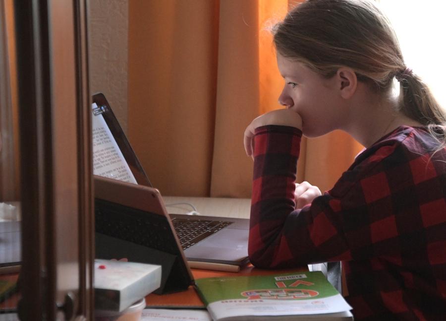 В Москве школьников готовят к дистанционному обучению
