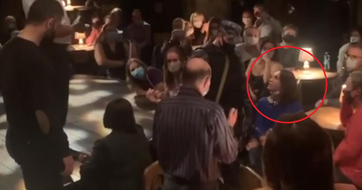 Спектакль на Таганке сорвался из-за отказа зрительницы надеть маску