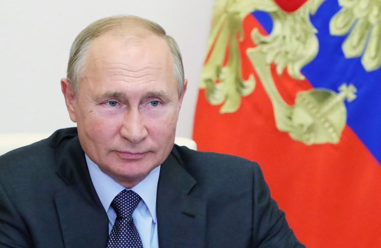 Путин наградил Андрея Турчака орденом Александра Невского