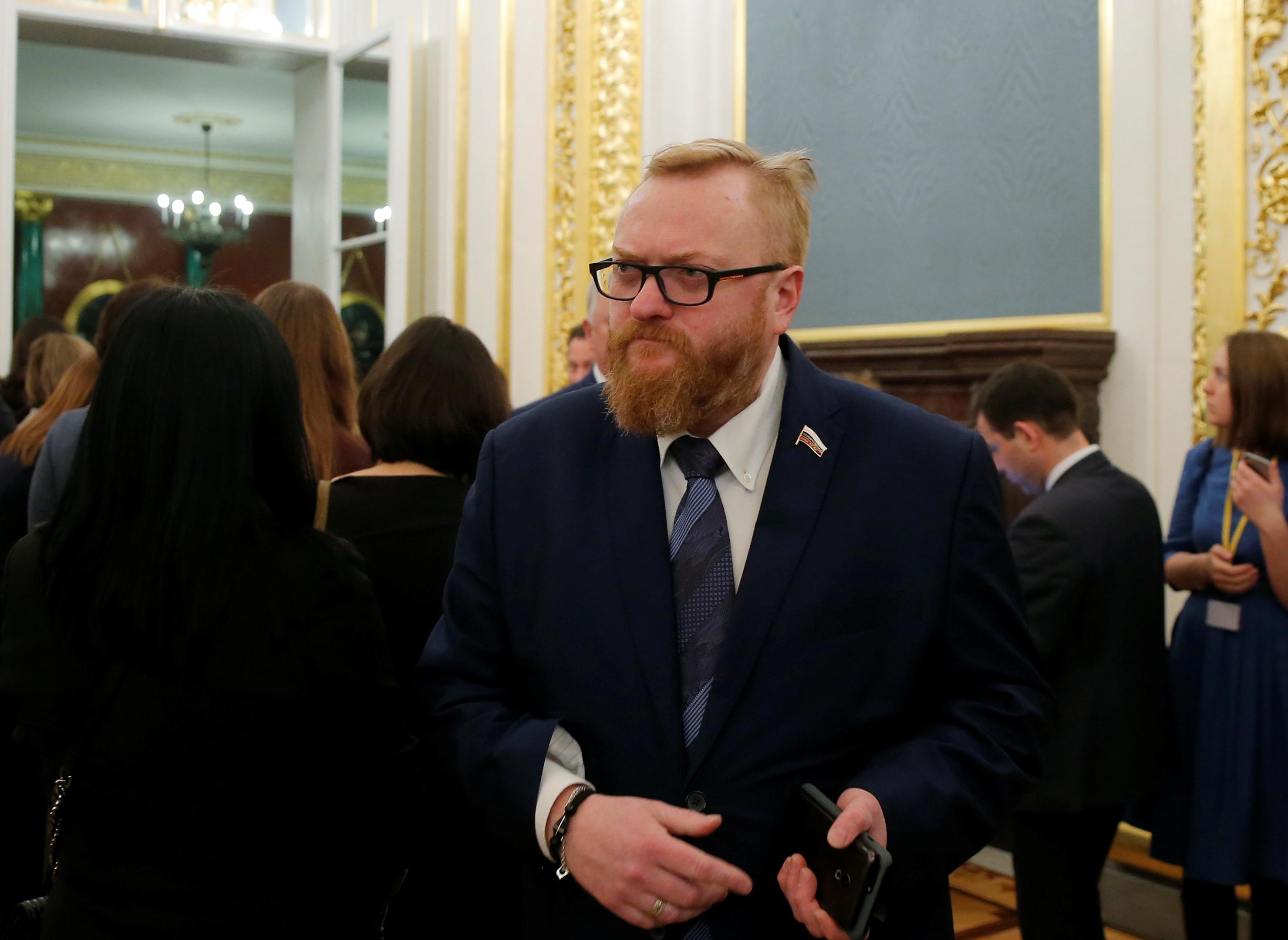 Посольство Азербайджана выразило протест МИД РФ из-за поездки депутата ГД Милонова в Карабах