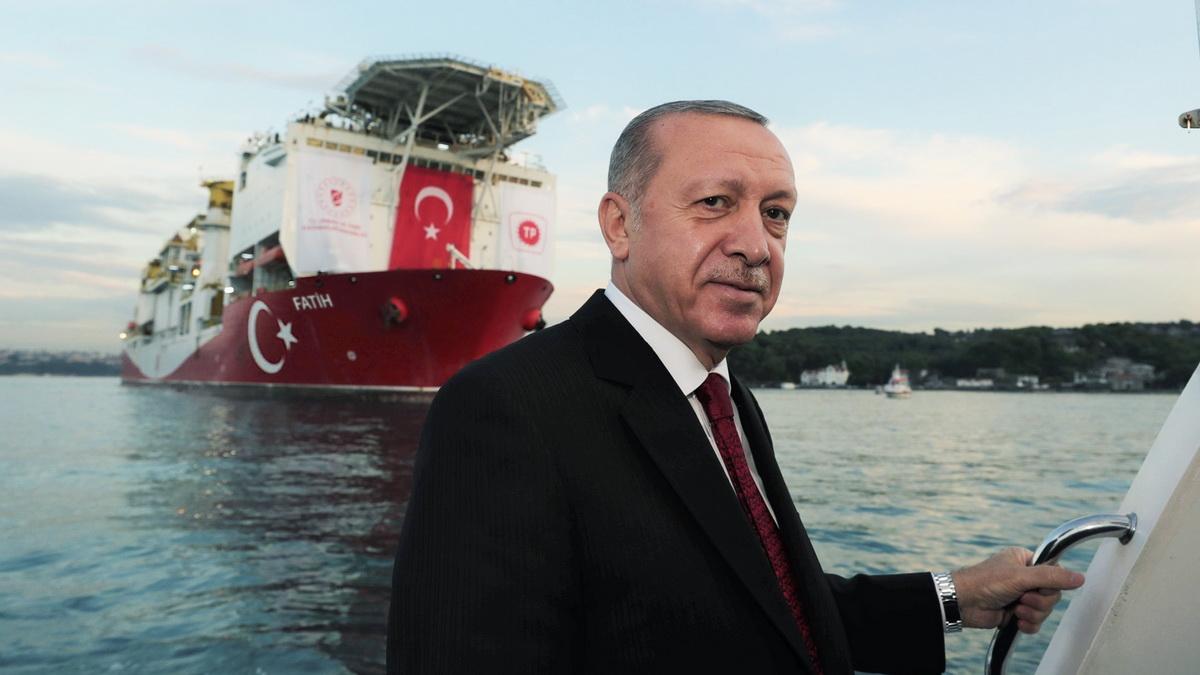 Эрдоган сообщил об открытии крупнейшего в Турции месторождения газа