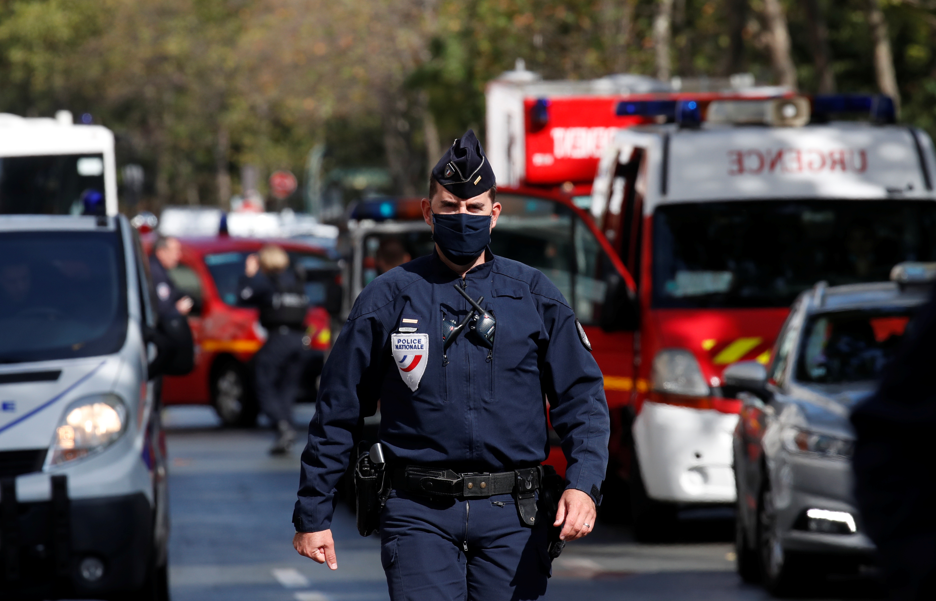 По делу об убийстве французского учителя будут судить семерых мусульман