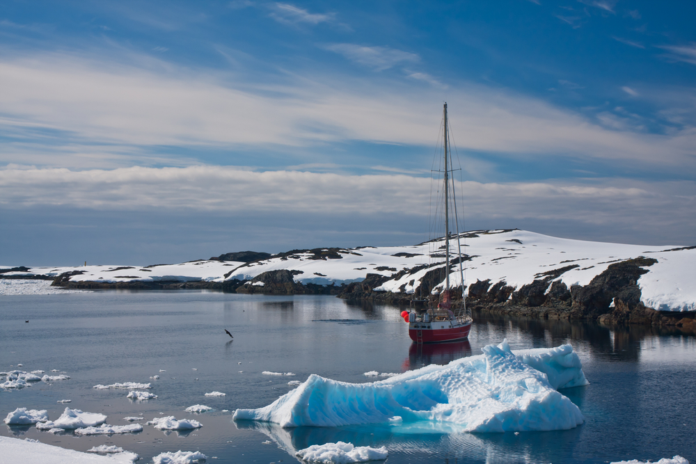 В Арктике дали названия новым островам и мысам, образовавшися из-за таяния ледников