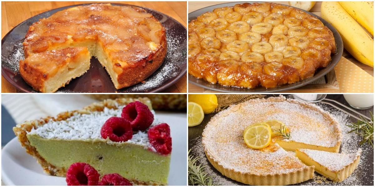Подборка сладких рецептов для любителей тарта