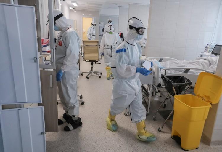 В Москве за сутки умерли 62 пациента с коронавирусом