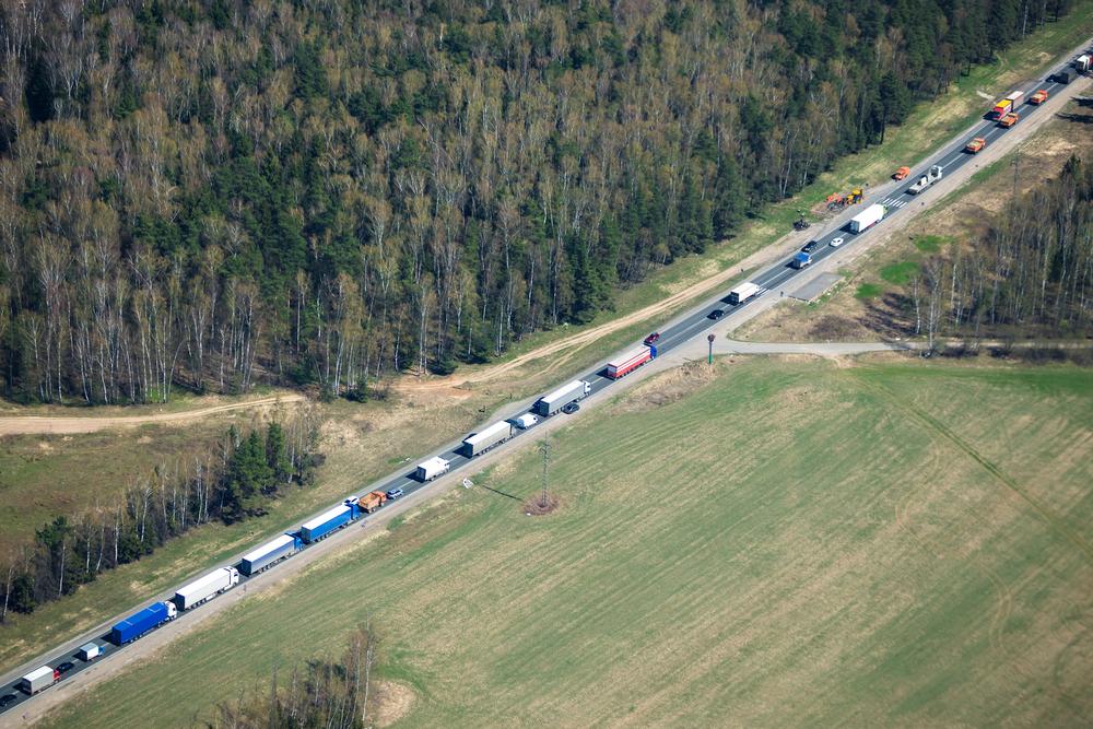 Водители фур из РФ устроили забастовку на границе с КНР и требуют тестов на COVID