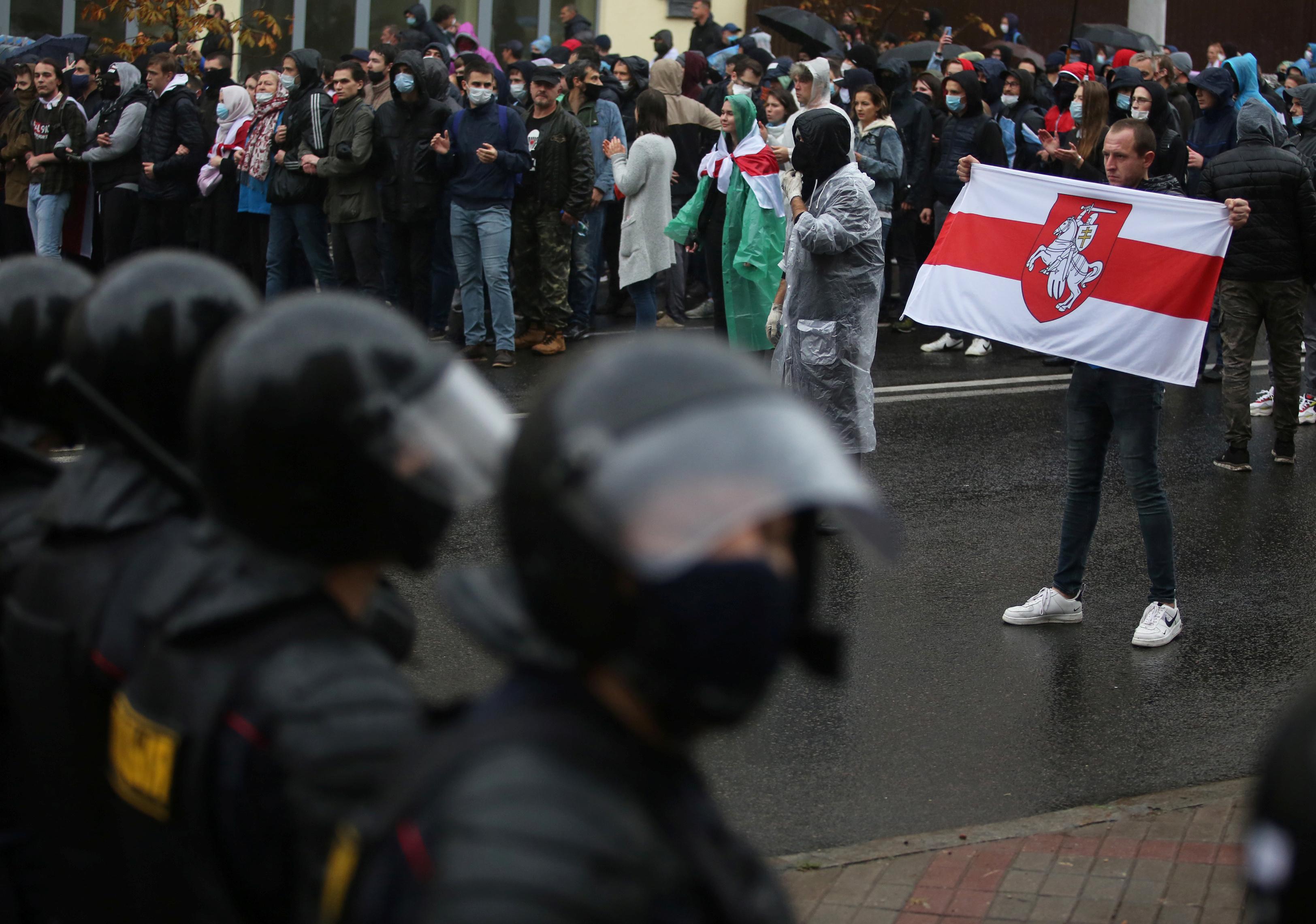 В Белоруссии задержали 15-летнего борца с силовиками
