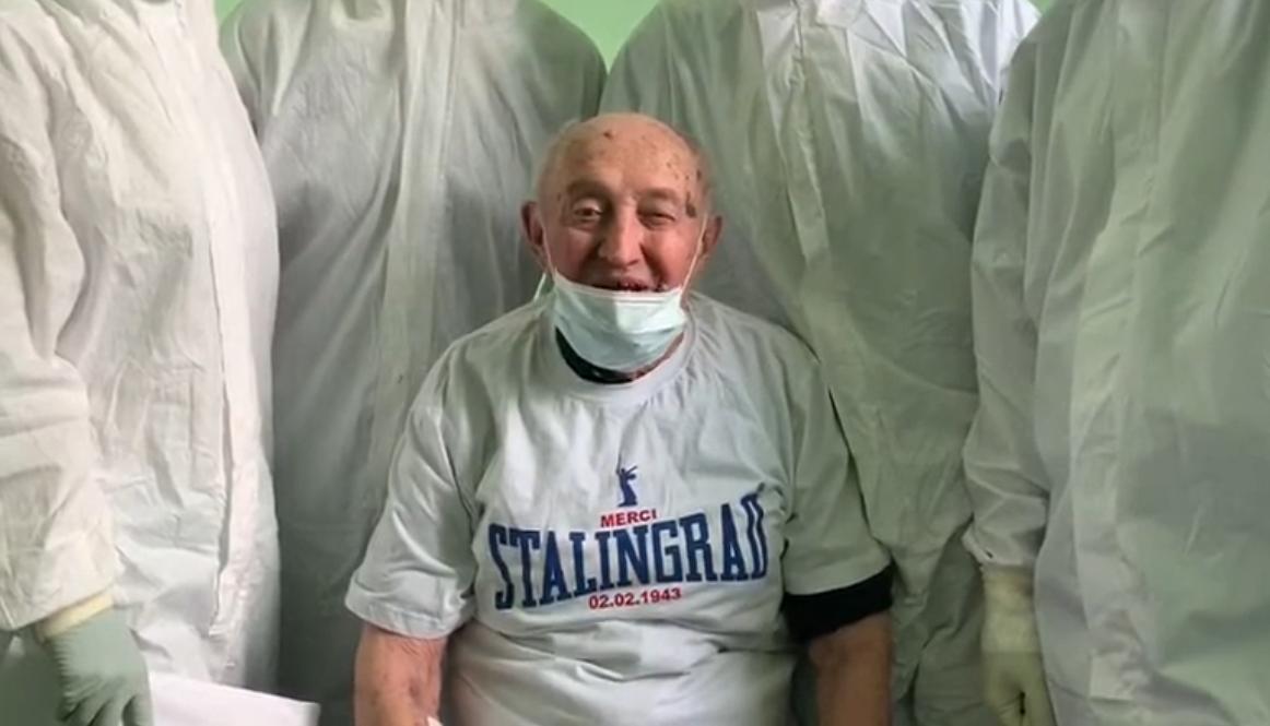 96-летний защитник Сталинграда победил коронавирус