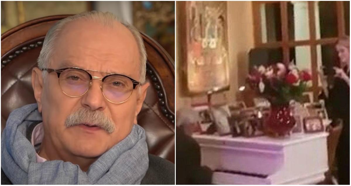 Жена Михалкова показала роскошные убранства их особняка