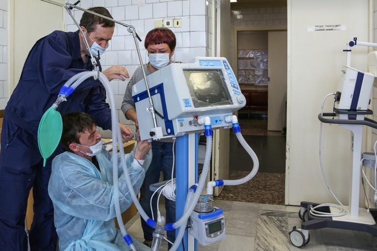 В Подмосковье почти половина пациентов с COVID-19 получают кислород