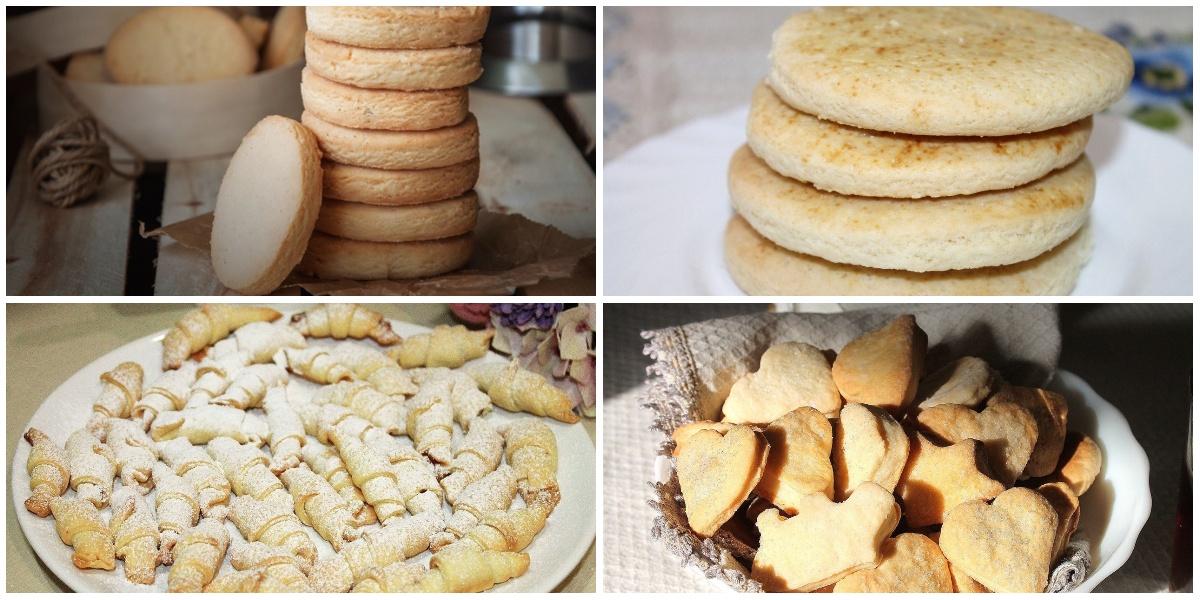 7 разнообразных рецептов песочного печенья