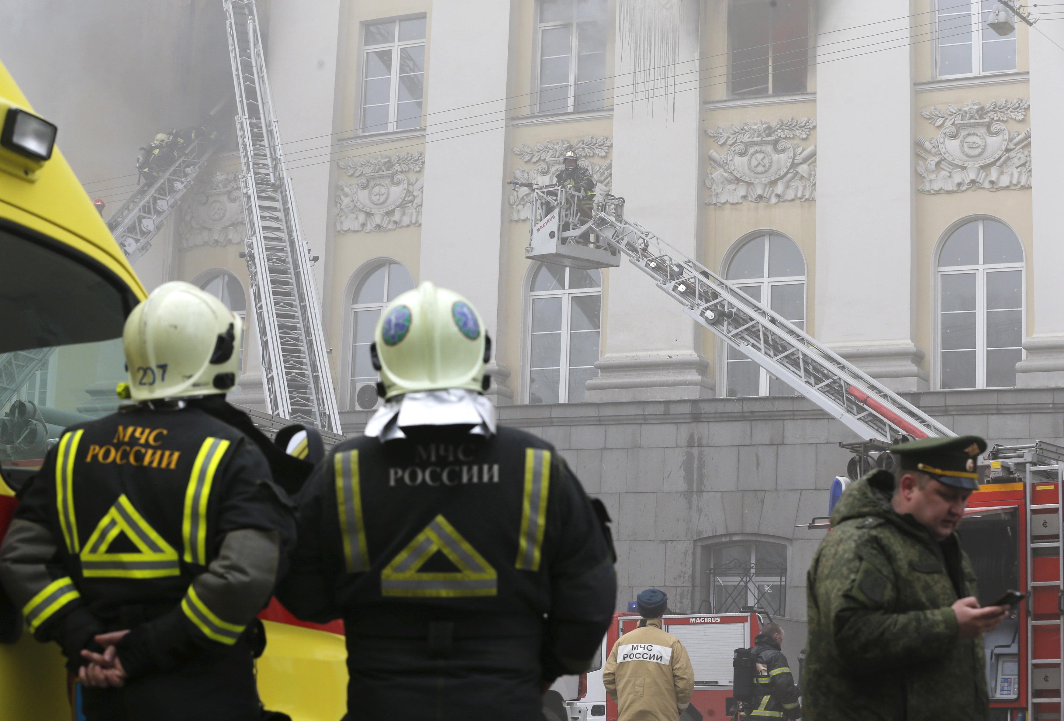 Пожарных и спасателей хотят освободить от наказания за гибель людей