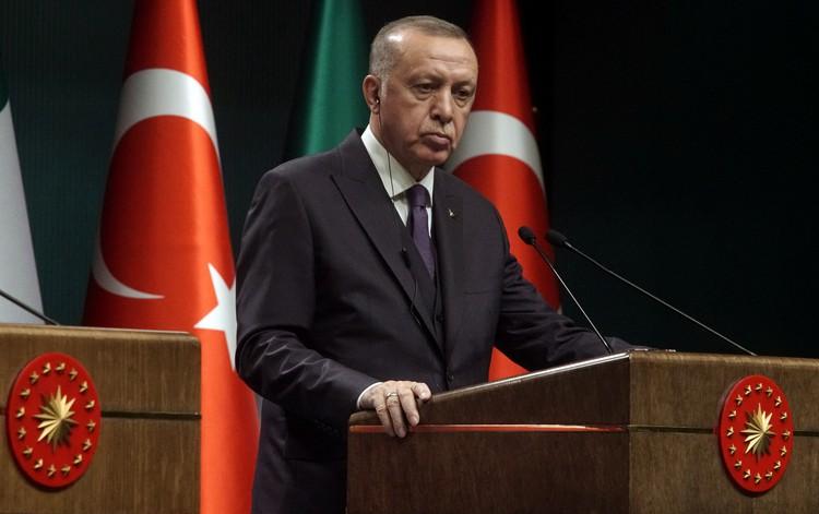 Эрдоган призвал граждан Турции не покупать французские товары
