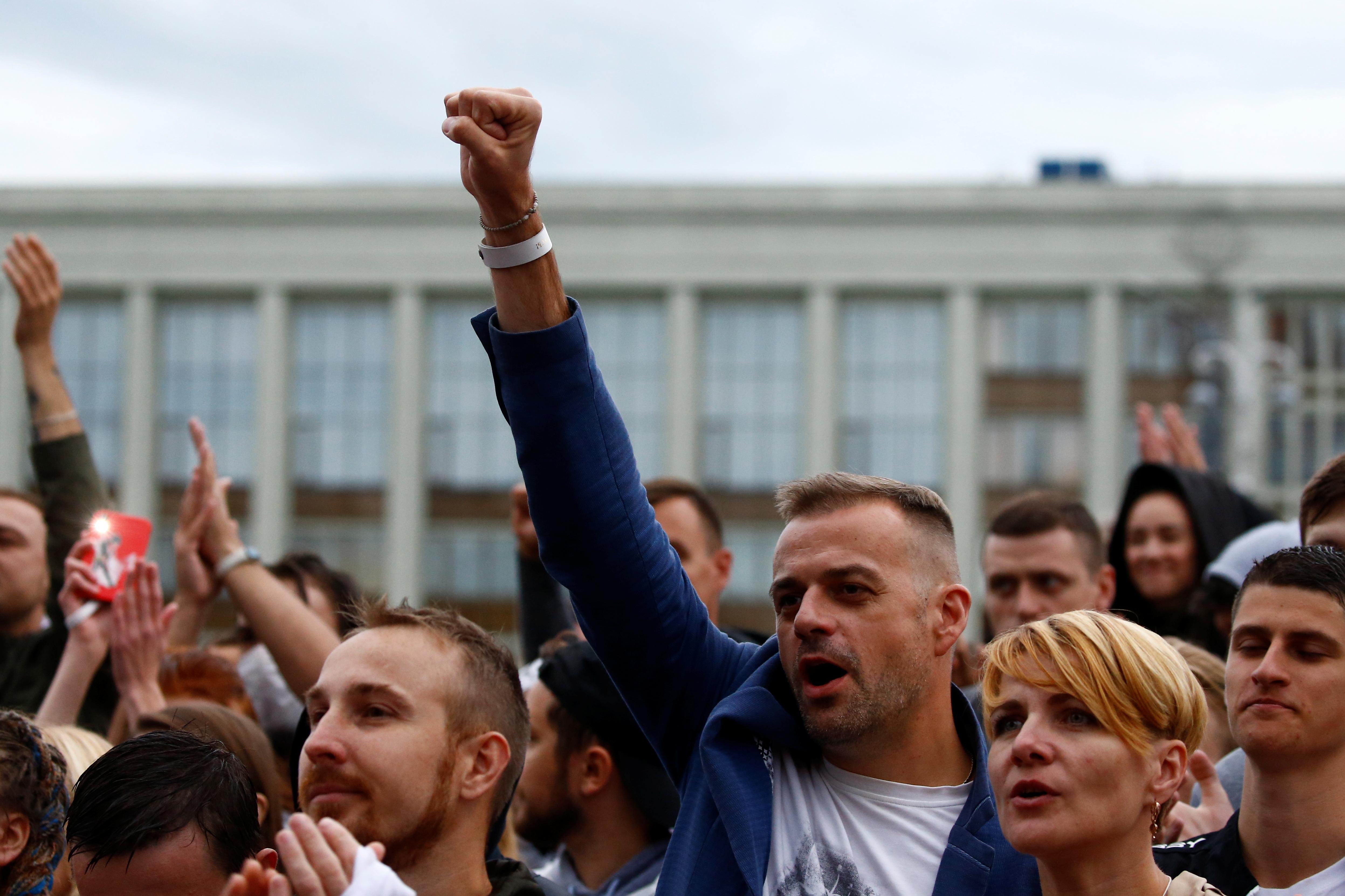 В Минске создали проект помощи уголовно преследуемым за протесты