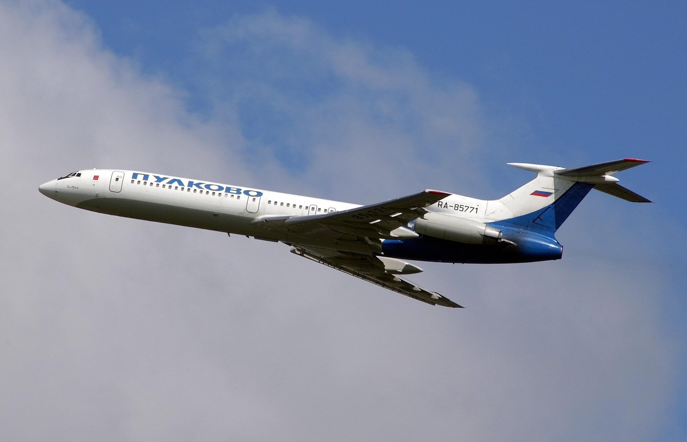 Российский Ту-154 совершил последний гражданский полет